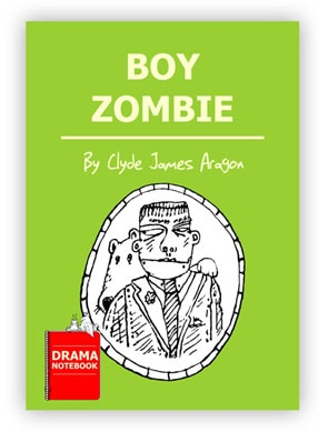 Royalty-free Halloween Play Script for Schools-Boy Zombie