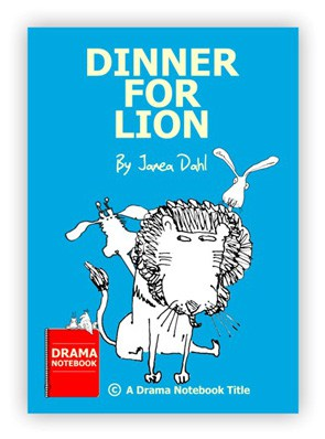 Dinner for Lion Royalty-free Play Script for Schools-