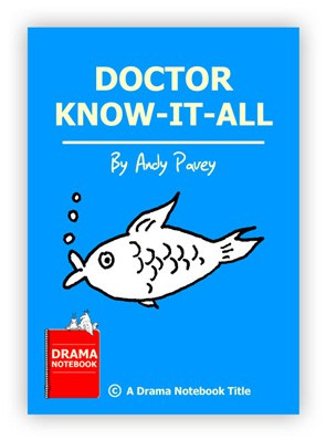 Royalty-free Play Script for Schools-Dr. Know it All
