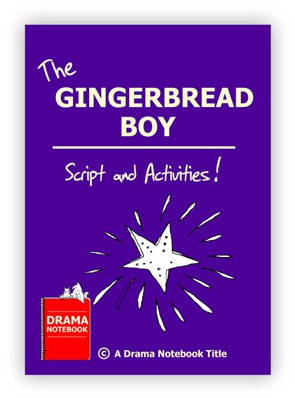 The Gingerbread Boy Royalty-free Play Script for Schools-