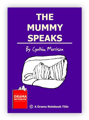 Royalty-free Halloween Play Script for Schools-The Mummy Speaks