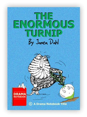 The Enormous Turnip Royalty-free Play Script for Schools-