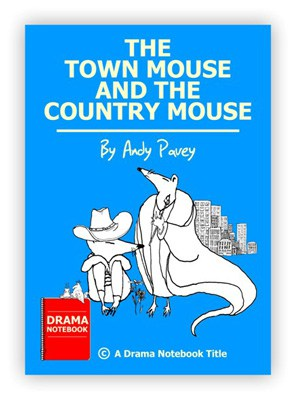 The Town Mouse and The Country Mouse Royalty-free Play Script for Schools-
