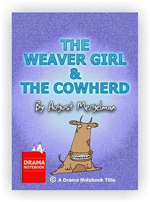 puppetry play for kids-the-weaver girl and the cowherd