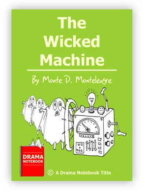 Royalty-free Halloween Play Script for Schools-The Wicked Machine