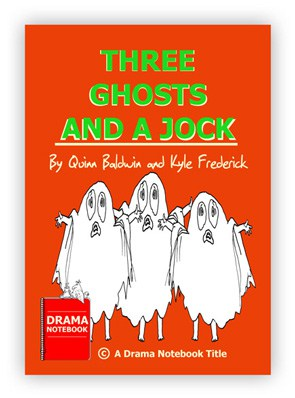 Royalty-free Play Christmas Script for Schools-Three Ghosts and a Jock