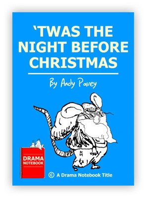 'Twas the Night Before Christmas Royalty-free Play Script for Schools-