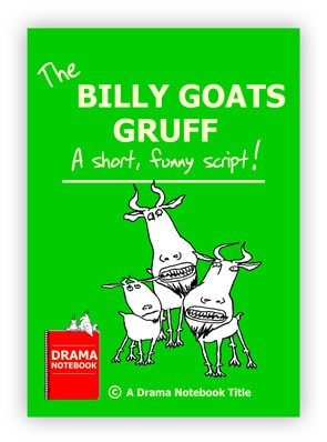 Billy Goats Gruff Royalty-free Play Script for Schools