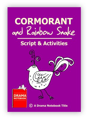 Cormorant And Rainbow Snake Script Royalty-free Play Script for Schools