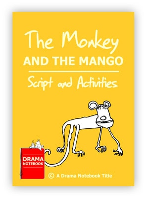 Monkey And The Mango Script Royalty-free Play Script for Schools-
