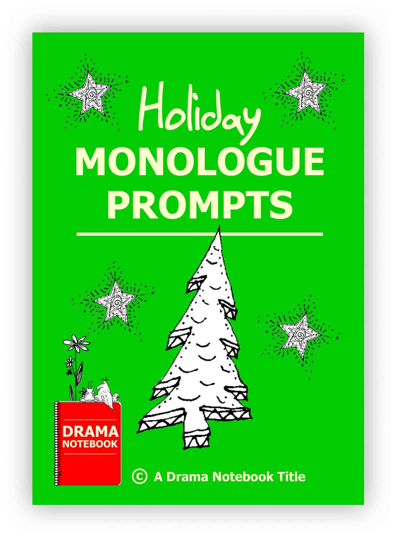 Holiday Monologue Prompts for Kids