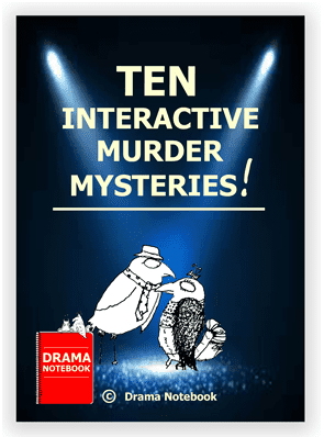 PDF Cover image for murder mysteries that can be done on Zoom