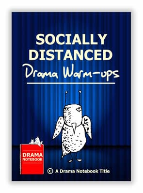 Book Cover for Drama Games that are Socially Distanced
