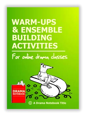Book Cover for Warm Up and Ensemble Building Activities to Teach Online