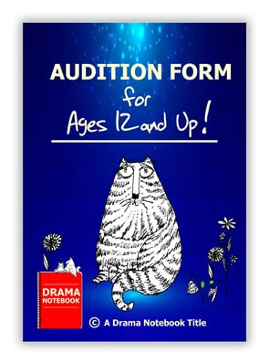 Audition Form for Secondary