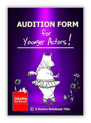 Audition Form for Elementary